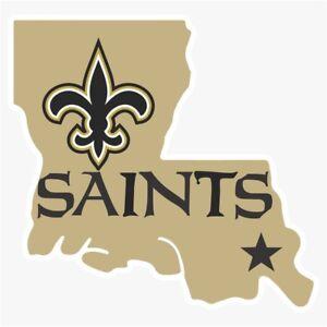 New Orleans Saints Alternate Logo Die Cut Vinyl Decal Buy
