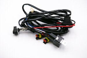 KABELBAUM-Kit-fuer-LED-Zusatzscheinwerfer-BMW-R-1200GS-schwarz-oder-indiv-Einbau
