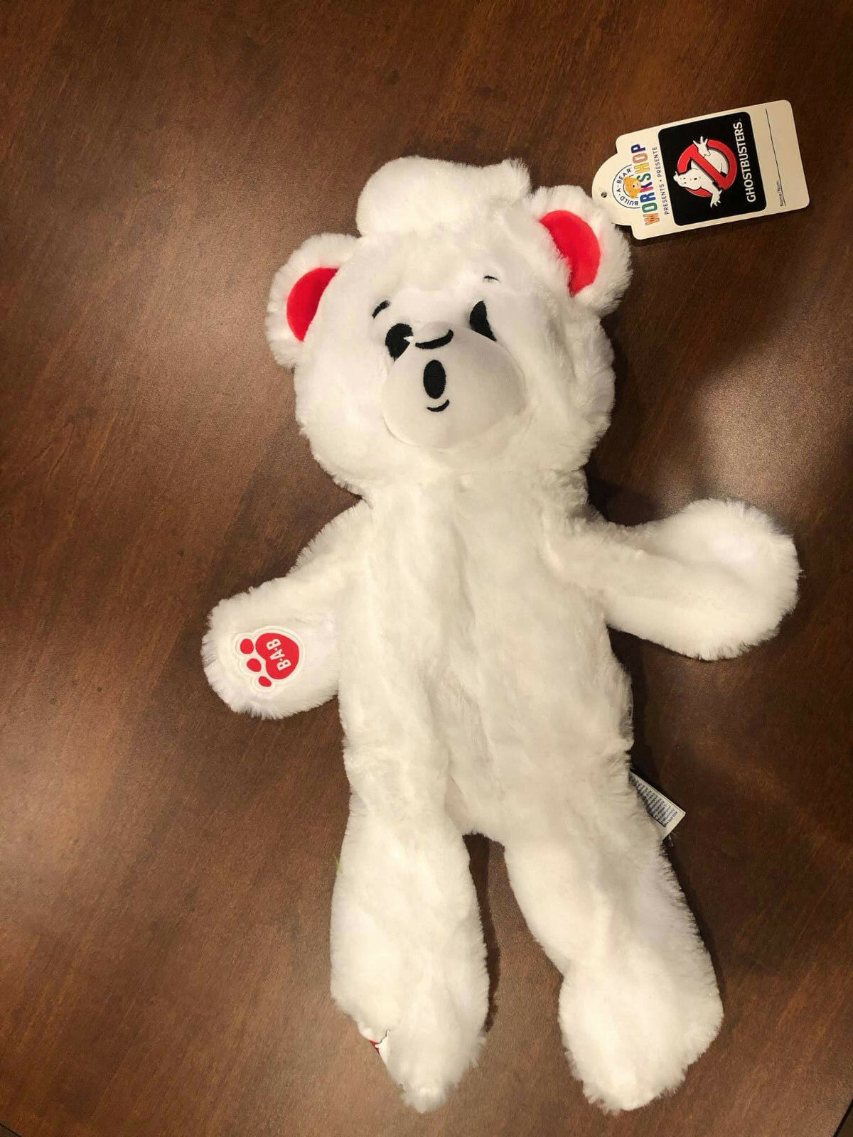 Build a Bear BABW - GHOSTBUSTERS GHOST - Brand New RARE UNSTUFFED