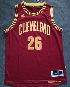 a27e29c1f france image is loading cleveland cavaliers kyle korver 26 red jersey all  49c58 de32a