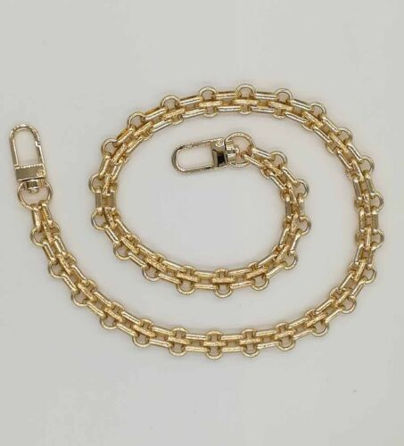 New Metal Four Colors Three Rows Chain For Handbag Purse Or Shoulder Strap Bag #