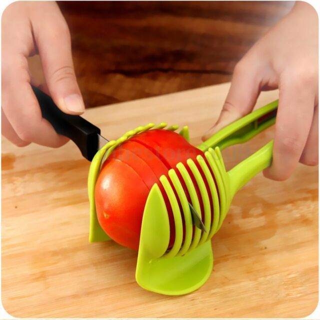 Potato Food Tomato Onion Lemon Vegetable Fruit Slicer Egg Peel Cutter Holder