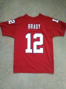 tom brady alternate red jersey