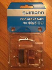 Shimano M03 Metal Disc Brake Pads and Spring for XT  SLX ALFINE BR-M755 Calipers