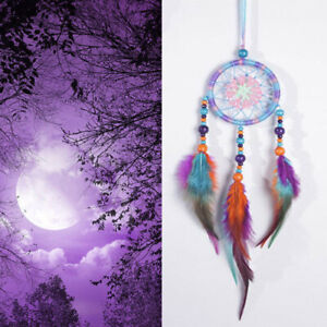 Colorful-Handmade-Indian-Dream-Catcher-Net-Hanging-Craft-Gift-Home-Car-Decor-US