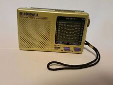 Bell Howell fm/mw/sw 9 Band World Reciever