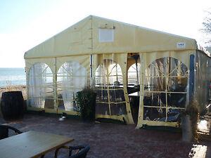 Vereinszelt-Festzelt-Eventzelt-6m-x-12m-4x-Sprossenfenster-inkl