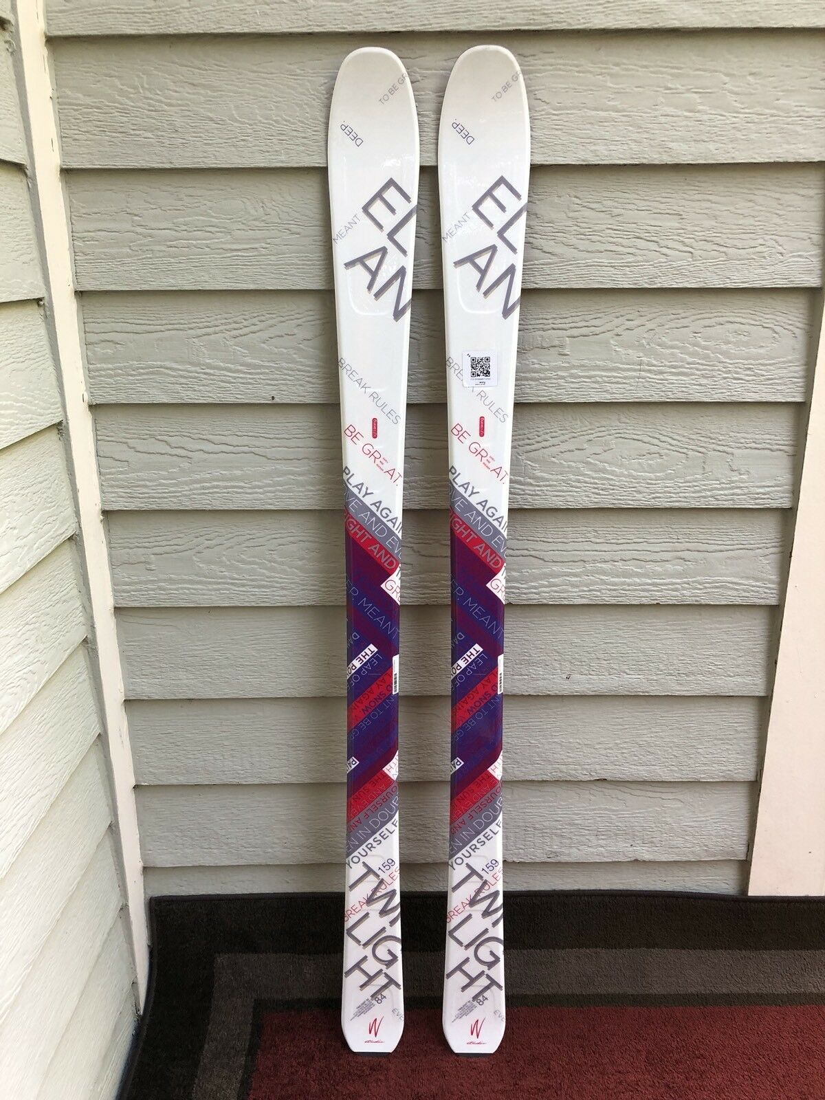 Elan 159 cm Twilight 84 Woherrar All Mountain åka skidors NY