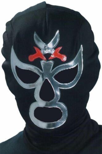 Macho Libra Wrestling Nacho Lucha Wrestler Mask Fun Fancy Dress