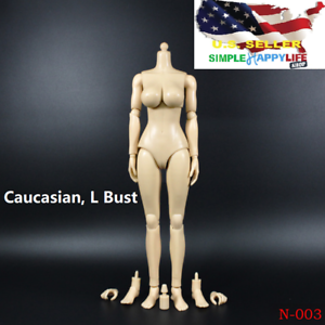 ZY TOYS 1//6 Female Nude Figure Body Rubber Skin Layer L Bust Caucasian N003❶USA❶