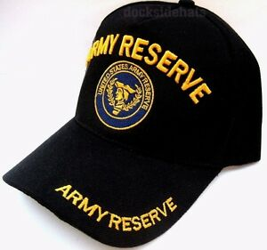 U-S-ARMY-RESERVE-Cap-Hat-Black-New-Military-Style2-FREE-Shipping