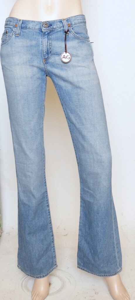Nwt AG Adriano goldschmied ANGEL Bootcut Low Rise Jeans Denim Pants SPL 25