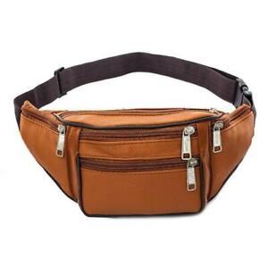 2020 Fanny Pack New Men Leather Waist Belt Bag Hip Purse High Quality Travel bag