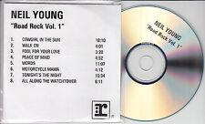 NEIL YOUNG Road Rock Vol 1 2000 UK 8-trk promo test CD