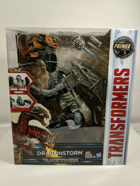 TRANSFORMERS THE LAST KNIGHT PREMIER EDITION LEADER CLASS DRAGONSTORM COMBINER