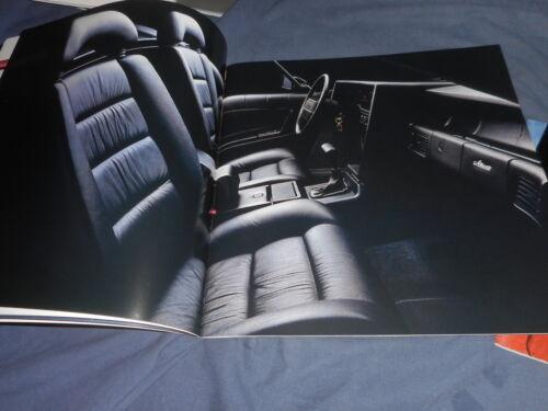 1990 Cadillac Seville STS Deville Eldorado Fleetwood Brochure Catalog Prospekt