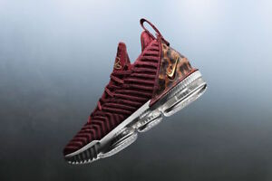 brand new d955f eb185 Details about Nike Lebron 16 XVI size 12.5. King. Team Red Gold. Animal  Print. AO2588-601..