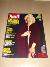 PARIS MATCH N°2049 septembre 1988 Marilyn Monroe