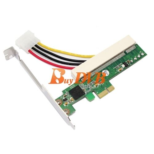PCIe to PCI Adapter Card Support Windows 2000//NT//2003//XP//Vista//Linux