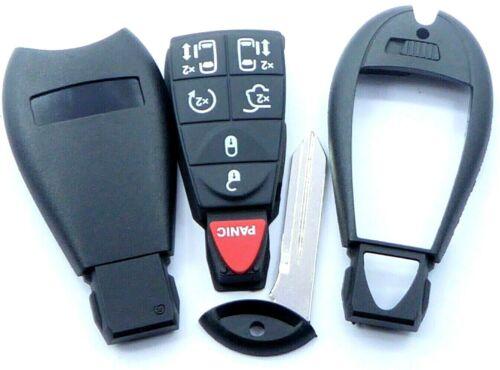 1x Funk Fernbedienung Schlüssel 434 MHz ID 46 für Chrysler Dodge