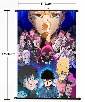 Hot Anime Mob Psycho 100 Wall Poster Scroll Home Decor 2204