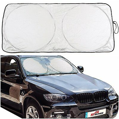 Sumex Front Windscreen UV Laser Foil Sun Shade Block Screen to fit BMW 3 Series