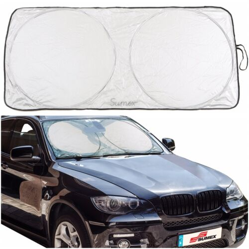 Sumex Front Windscreen Foldable Reflective Sun Shade Block Screen for Audi 80//90