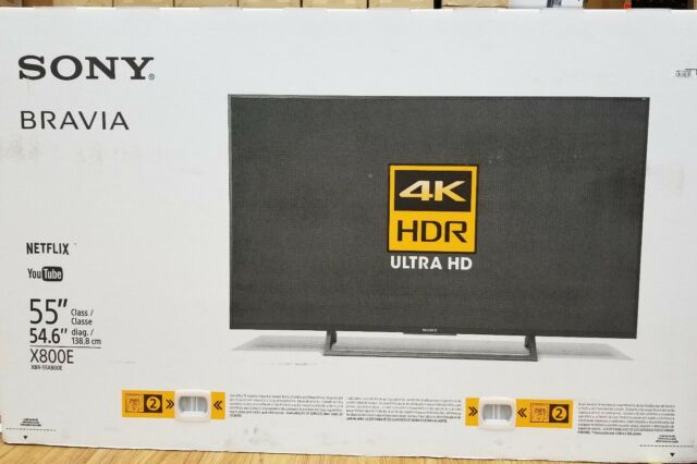 Sony 55 Inch 4K Ultra HD HDR Smart Android LED TV / 2017 Model | XBR-55X800E