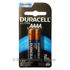 2 Duracell Ultra AAAA Alkaline Batteries ( MX2500, E96, MN2500, LR8D425, 25A )