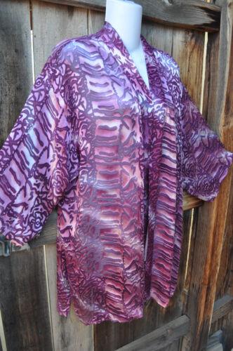 abstract dragenone te handbeschilderd om Simpelweg zijdeart kimonojasje size m80wONvn