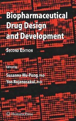(Very Good)-Biopharmaceutical Drug Design and Development (Hardcover)--158829716