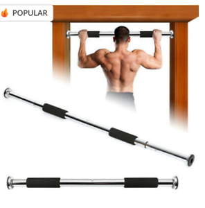 Pull-up Bar Adjustable Gym Exercise Training Chin-up Fitness Door Fitting Univer