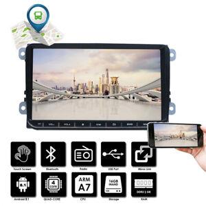 autoradio 9 android gps navi bluetooth kamera f r vw golf 5 vi polo touran ebay. Black Bedroom Furniture Sets. Home Design Ideas