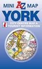 York Mini Map by Geographers' A-Z Map Company (Sheet map, folded, 2011)