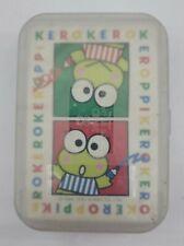 """Vintage Sanrio Kero Kero Keroppi Mini Photo Album /""""NIP/"""" 1995"""