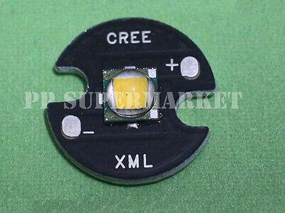 Cree XML-T6 warm White Color 10W LED Emitter Bead mounted on 16mm UFO base