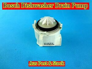 Bosch dishwasher spare parts drain pump replacement b181 used ebay - Bosch dishwasher pump not draining ...