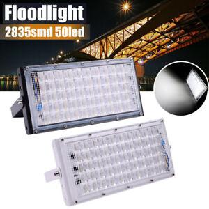 50W-50LED-Flood-Light-Waterproof-Garden-Outdoor-Yard-Lighting-Lamp-220V-USA