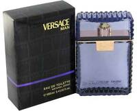 Versace Man By Gianni Versace 3.4 Oz Edt Cologne 3.3 Spray Men In Box