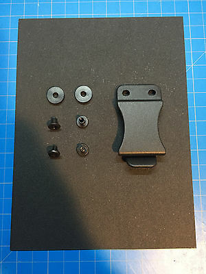 "Kydex Gun Holster DIY Kit. Make Your Own Kydex Holster! 6""x8"" Kydex & FOMI Clip!"