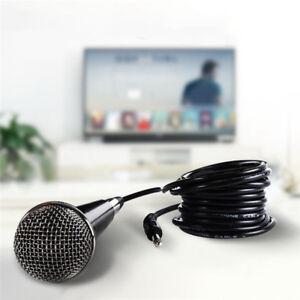 Professional-Handheld-Wired-Dynamic-Miniphone-o-Karaoke-Singing-Vocal-Music-YT