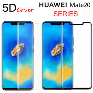 newest 9b4bf ea12a Details about For Huawei Mate 20 Pro 20Lite 5D Full Cover Tempered Glass  Film Screen Protector