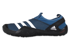 857f7c43c95 adidas Mens Climacool Jawpaw Slip on Water Shoes Blue Atheletic ...