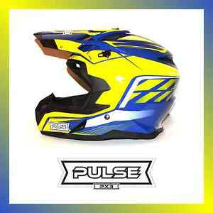 PULSE-PX3-BLUE-MOTOCROSS-MX-ENDURO-OFF-ROAD-HELMET-WAS-89-99-NOW-44-99