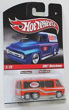 Hot Wheels Delivery Slick Rides Custom GMC Motorhome REAL RIDERS 1:64