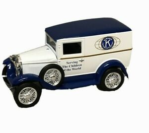 Rare-Liberty-Classics-Ford-Model-034-A-034-Bank-Truck-Limited-Edition-Kiwanis-with-Key