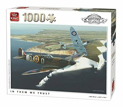 King History Collection In Them We Trust 1000 piece war plane jigsaw puzzle