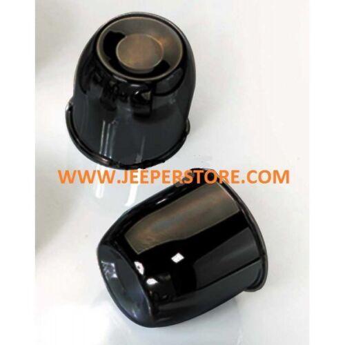 Cache moyeu de roue noir pour Jeep diamètre: 80mm