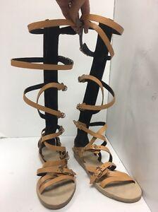 Balenciaga Gladiator Sandals Tan New Size 37 1 2 Ebay