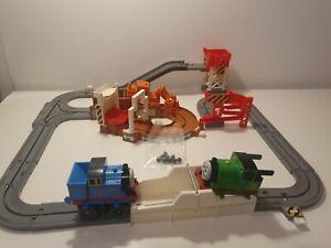 Vintage Thomas Tank Engine TOMY Big Loader Track Playset 2001